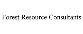 mark for FOREST RESOURCE CONSULTANTS, trademark #85743506