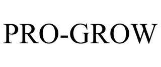 mark for PRO-GROW, trademark #85743543