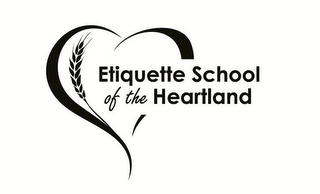 mark for ETIQUETTE SCHOOL OF THE HEARTLAND, trademark #85743992