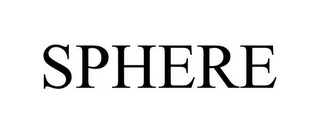 mark for SPHERE, trademark #85744357