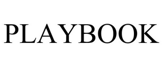 mark for PLAYBOOK, trademark #85744466