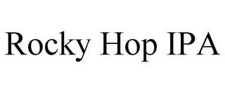 mark for ROCKY HOP IPA, trademark #85744723