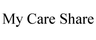 mark for MY CARE SHARE, trademark #85744867