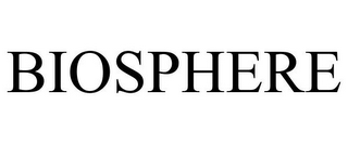 mark for BIOSPHERE, trademark #85744906