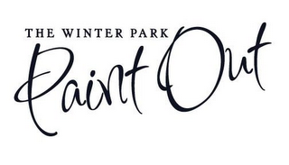 mark for THE WINTER PARK PAINT OUT, trademark #85744922