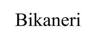 mark for BIKANERI, trademark #85744953