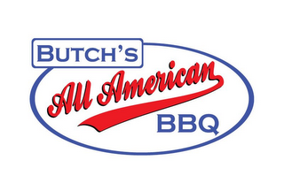 mark for BUTCH'S ALL AMERICAN BBQ, trademark #85745142