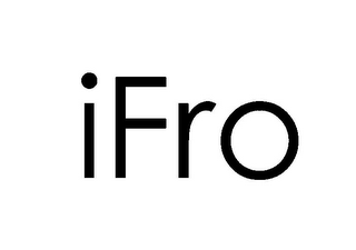 mark for IFRO, trademark #85745163