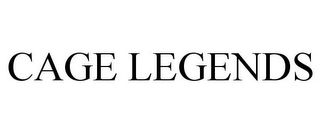 mark for CAGE LEGENDS, trademark #85745218