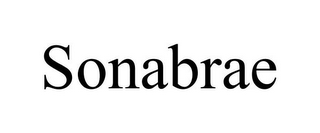 mark for SONABRAE, trademark #85745230