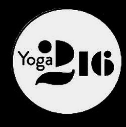 mark for YOGA216, trademark #85745310