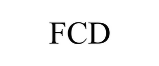 mark for FCD, trademark #85745351