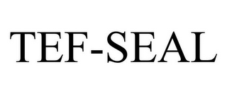 mark for TEF-SEAL, trademark #85745460