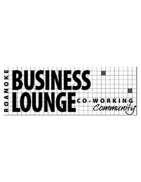 mark for ROANOKE BUSINESS LOUNGE CO-WORKING COMMUNITY, trademark #85745493