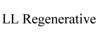mark for LL REGENERATIVE, trademark #85745631