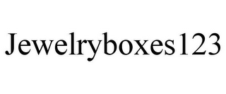 mark for JEWELRYBOXES123, trademark #85745814