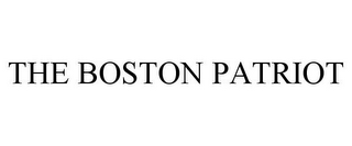 mark for THE BOSTON PATRIOT, trademark #85746079