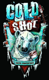 mark for COLD SHOT COFFEE CONCENTRATE, trademark #85746199