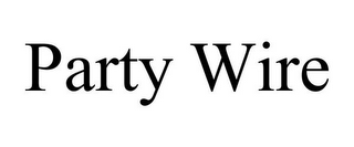 mark for PARTY WIRE, trademark #85746240