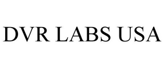 mark for DVR LABS USA, trademark #85746489