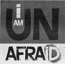 mark for I AM UNAFRAID, trademark #85746491
