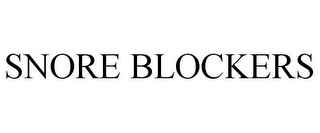 mark for SNORE BLOCKERS, trademark #85746527