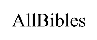 mark for ALLBIBLES, trademark #85746706