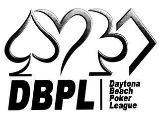 mark for DBPL DAYTONA BEACH POKER LEAGUE, trademark #85747071