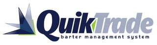 mark for QUIKTRADE BARTER MANAGEMENT SYSTEM, trademark #85747091
