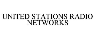 mark for UNITED STATIONS RADIO NETWORKS, trademark #85747276