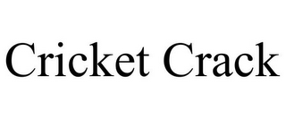 mark for CRICKET CRACK, trademark #85747366