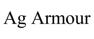 mark for AG ARMOUR, trademark #85747529