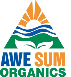 mark for AWE SUM ORGANICS, trademark #85747554