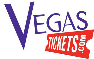 mark for VEGAS TICKETS.COM, trademark #85747902