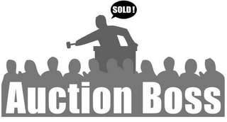 mark for SOLD! AUCTION BOSS, trademark #85747925