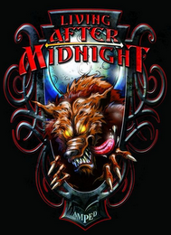 mark for LIVING AFTER MIDNIGHT AMPED, trademark #85747968