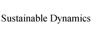 mark for SUSTAINABLE DYNAMICS, trademark #85748295