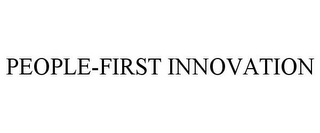 mark for PEOPLE-FIRST INNOVATION, trademark #85748339