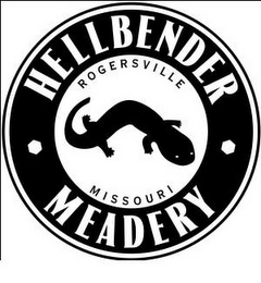 mark for HELLBENDER MEADERY ROGERSVILLE MISSOURI, trademark #85748428