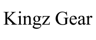 mark for KINGZ GEAR, trademark #85748512