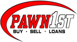 mark for PAWN 1ST BUY · SELL · LOANS, trademark #85748536