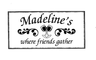 mark for MADELINE'S WHERE FRIENDS GATHER, trademark #85748796