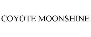 mark for COYOTE MOONSHINE, trademark #85748825