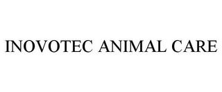 mark for INOVOTEC ANIMAL CARE, trademark #85749001