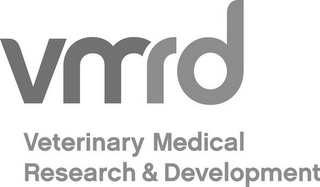 mark for VMRD VETERINARY MEDICAL RESEARCH & DEVELOPMENT, trademark #85749006
