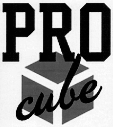 mark for PRO CUBE, trademark #85749106