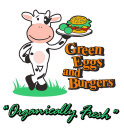 "mark for GREEN EGGS AND BURGERS ""ORGANICALLY FRESH"", trademark #85749150"