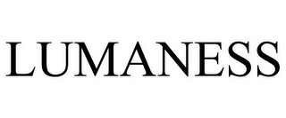 mark for LUMANESS, trademark #85749365