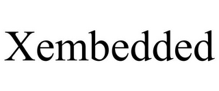 mark for XEMBEDDED, trademark #85749369