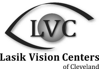 mark for LVC LASIK VISION CENTERS OF CLEVELAND, trademark #85749398